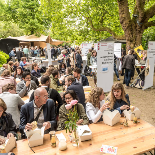Amsterdam City Event: a Knowledge Day for the Civil Servants of Amsterdam