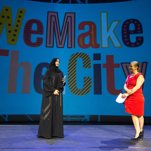 Second edition festival WeMakeThe.City: better cities for and by everyone.