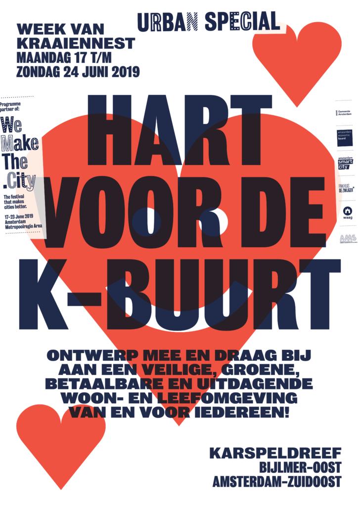 Afbeeldingsresultaat voor hart voor de k-buurt amsterdam